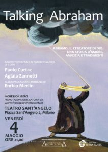 Milano - Taling Abraham @ Teatro sant'Angelo | Milano | Lombardia | Italia