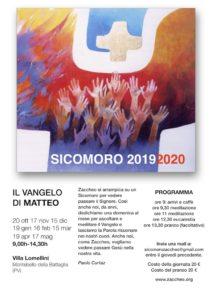 Sicomoro - 20 Ottobre 2019 @ Villa Lomellini | Lombardia | Italia